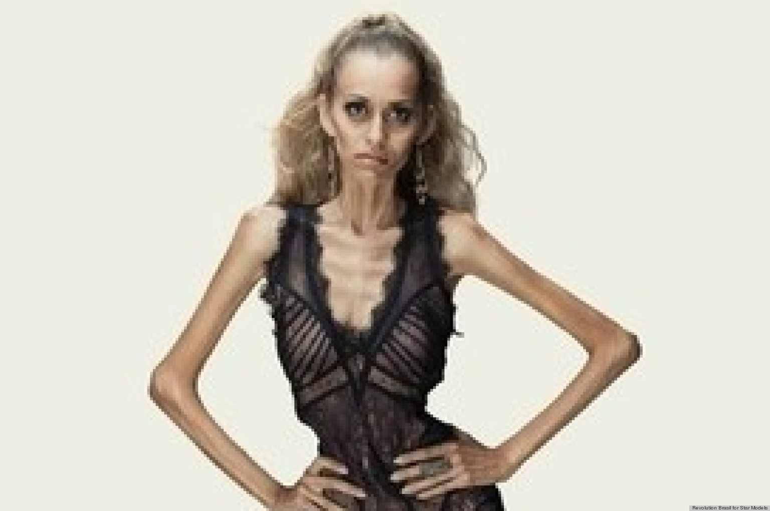 anti anorexia ads stun with tagline you are not a sketch