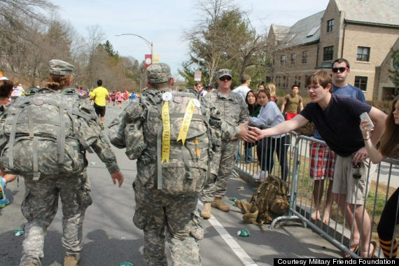 soldiers save lives marathon