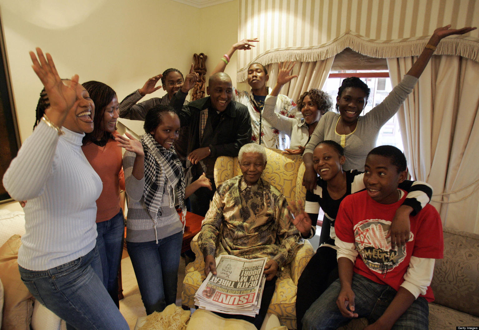 Google Users Want A Nelson Mandela Logo For His 95th Birthday