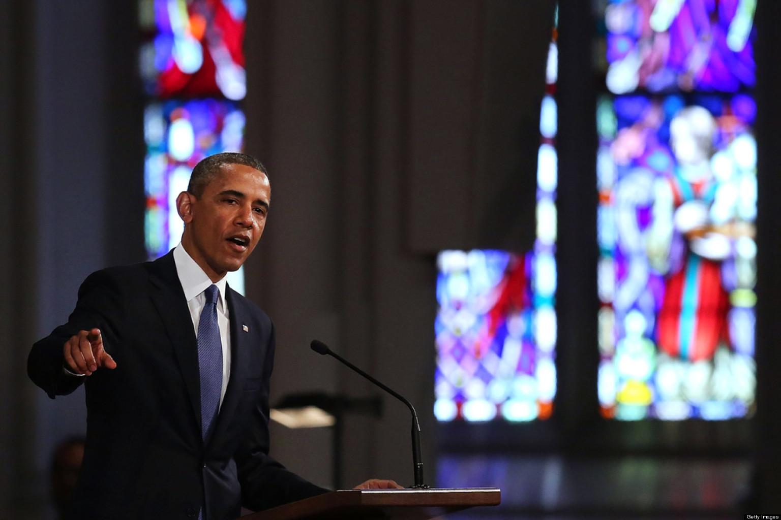 Full Text Of President Obama's Address At Boston Interfaith Service
