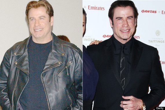 john travolta weight loss