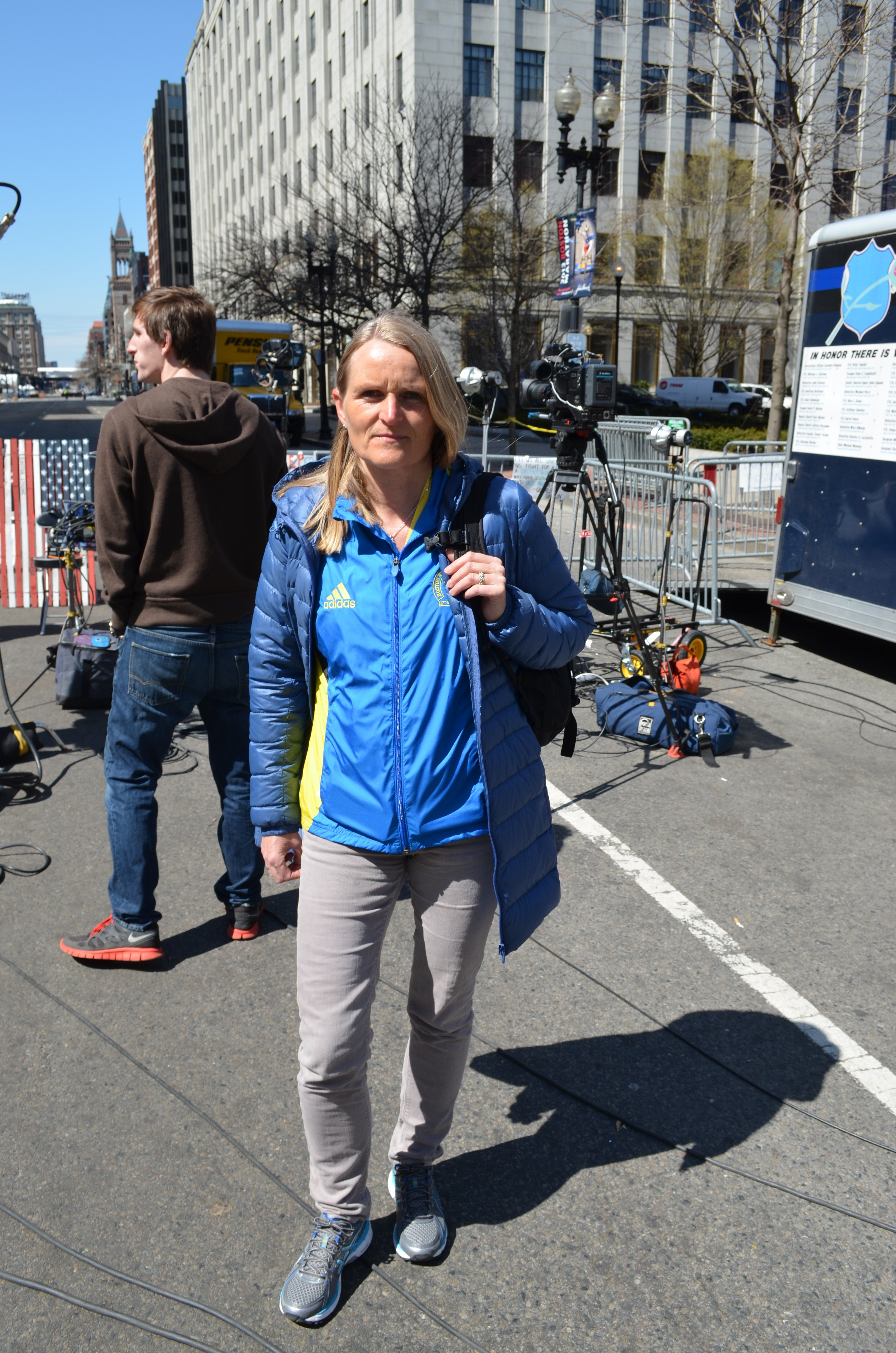 boston marathon runners lene henricksen