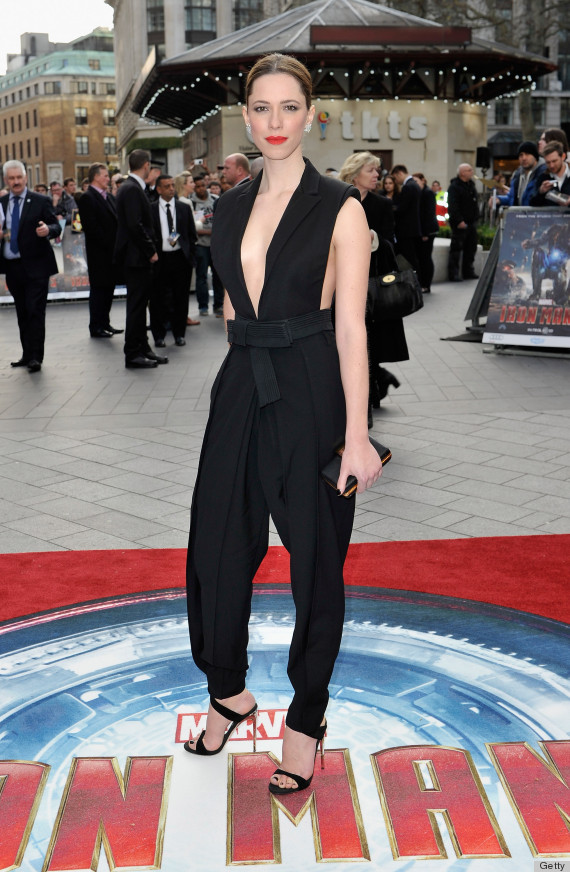 Rebecca Hall S Jumpsuit Is Anne Hathaway Levels Of Racy