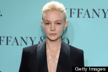 Carey Mulligan Shows Off New Hair, Goes Makeup Free For Tiffany Blue Ball