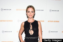 Emily Blunt & Heather Graham Wow In LBDs (Long Black Dresses) At Film Premieres