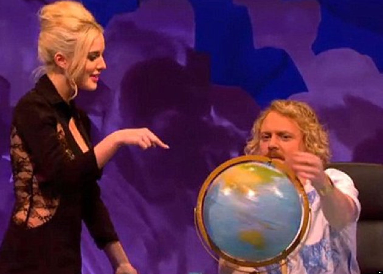 Celebrity Juice star Keith Lemon is IDENTICAL to Emily ...