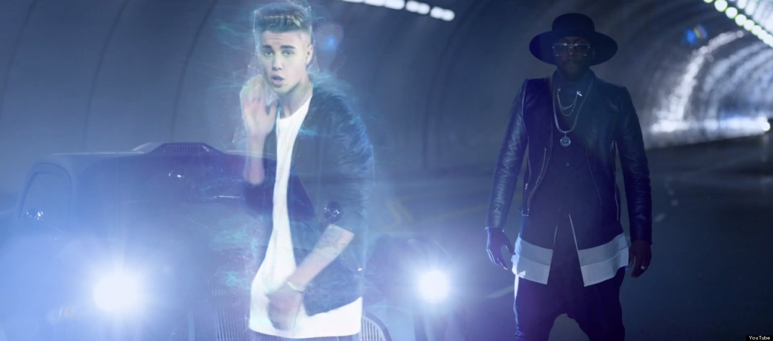 Justin Bieber And Will I Am '#ThatPower...