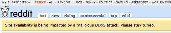 reddit ddos attack