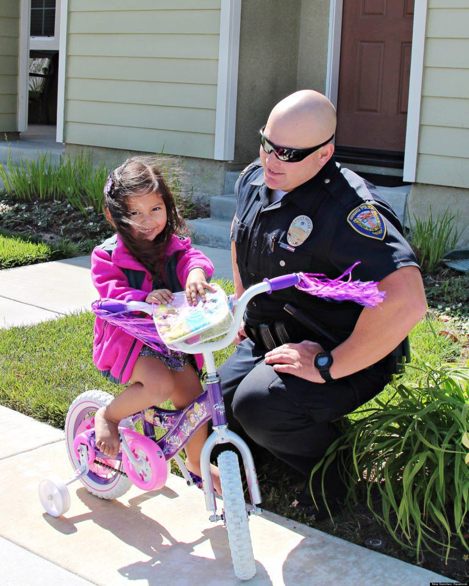 Cop Photo Goes Viral: Police Officer Michael Kohr Treats Bella Sanchez To New