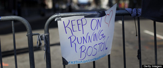 BOSTON MARATHON REACTIONS