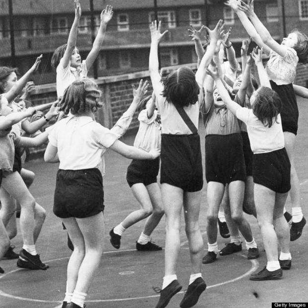 school pe netball