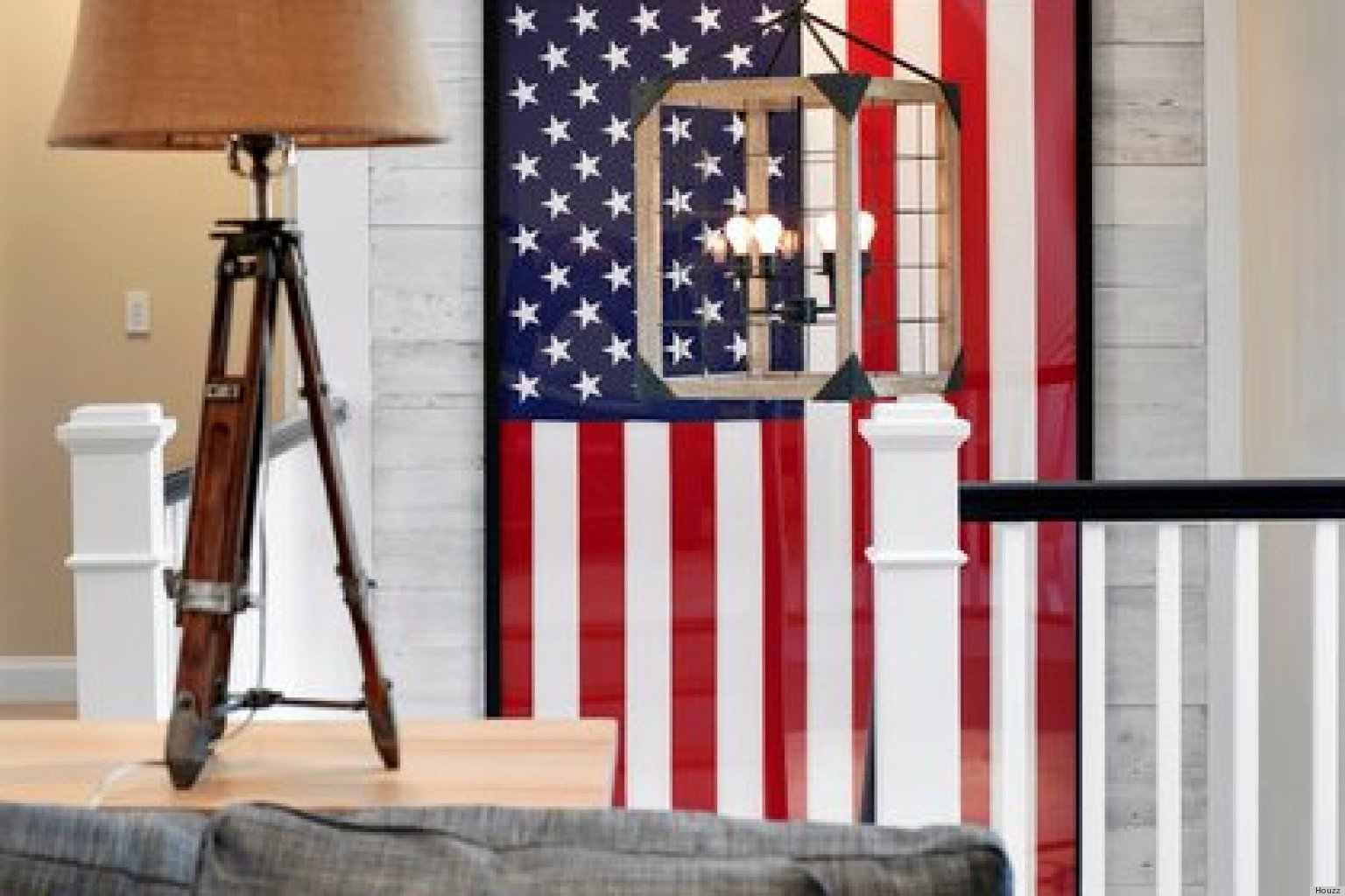 American Flags And Other Vintage Patriotic Decor Are Hot