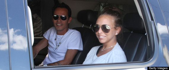 MARC ANTHONY CHLOE GREEN SPLIT