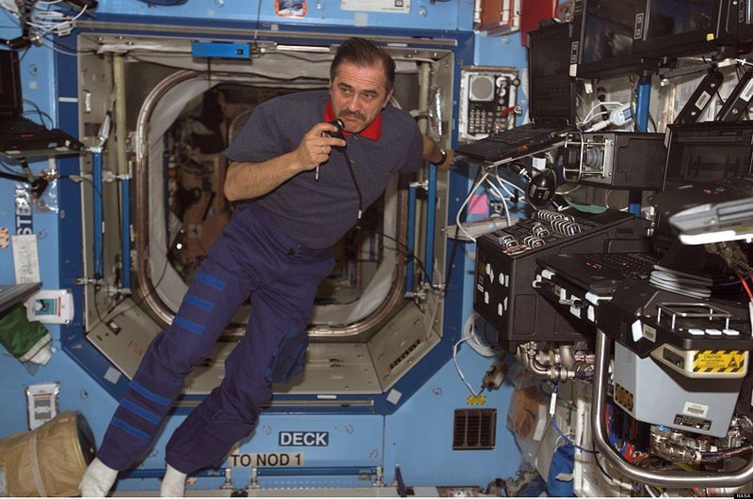 Cosmonaut Breaks Longstanding Space Record