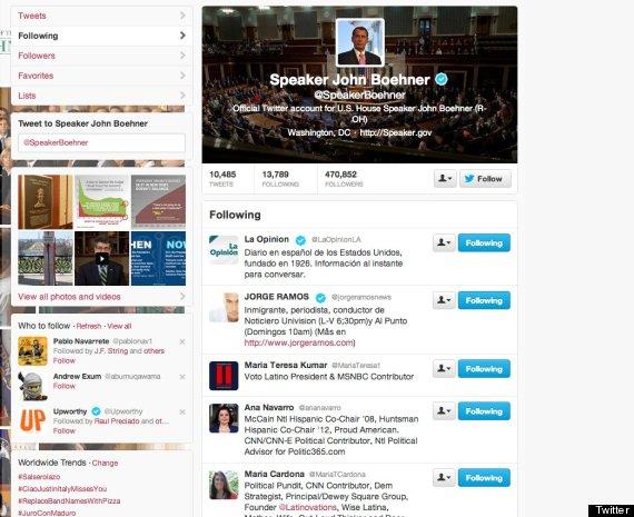 john boehner latino media