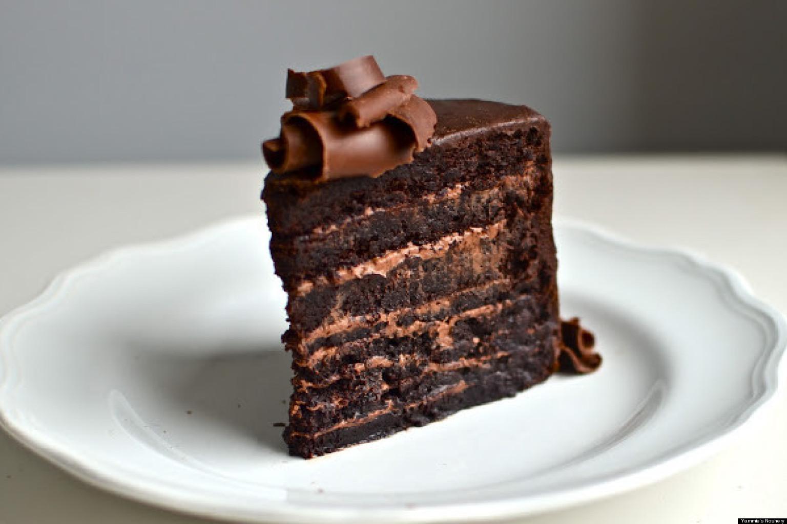Chocolate Cake With Creme Fraiche