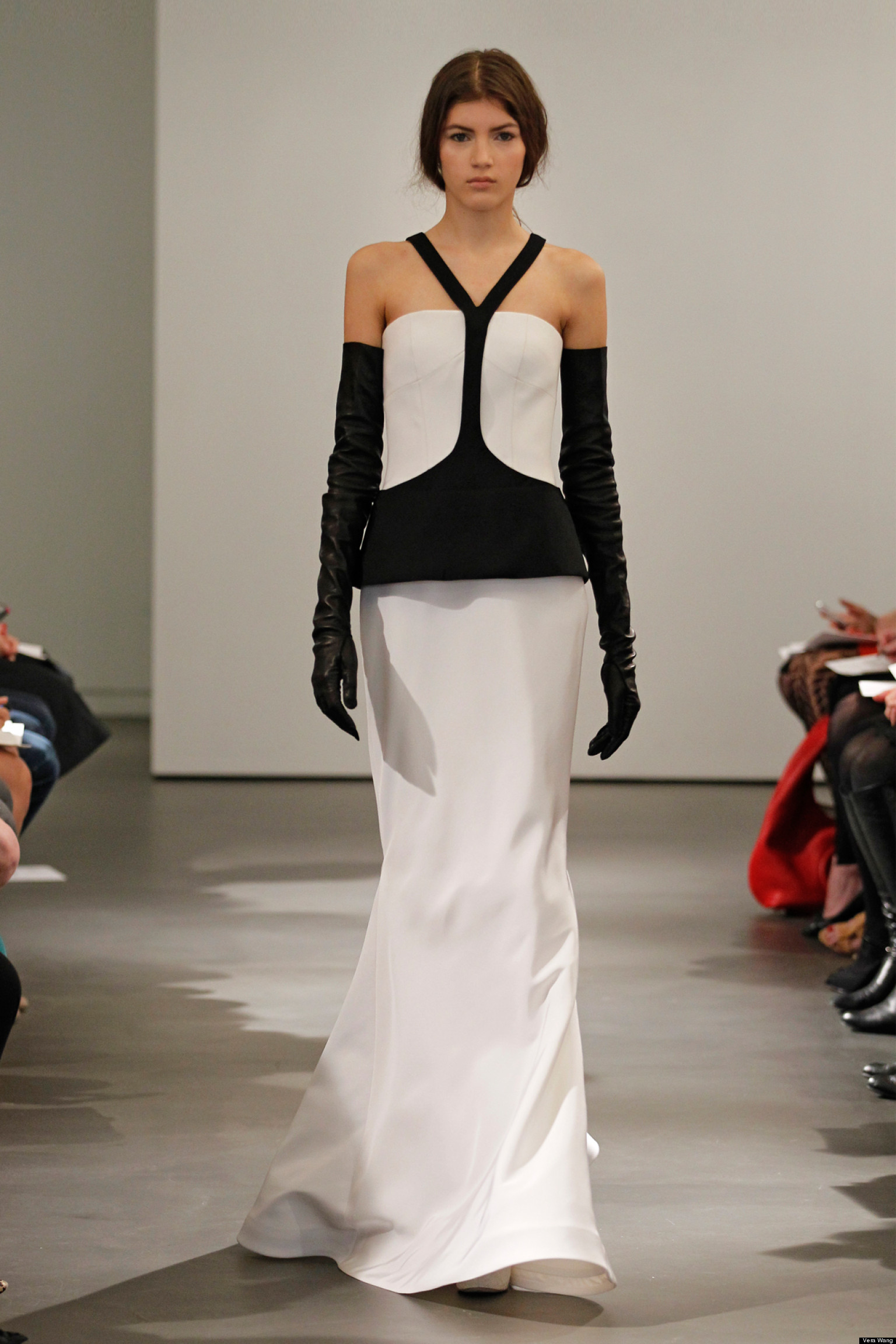 Vera Wang's Spring 2014 Bridal Collection Features Black And White ...