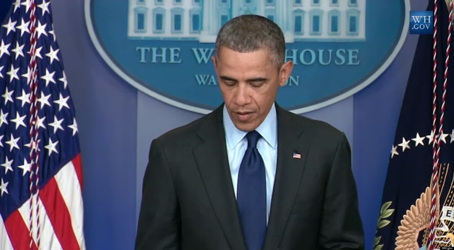 Obama: 'A Tough Week'