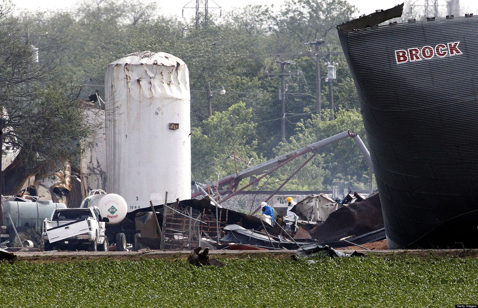 Texas Fertilizer Plant Kept Quiet About Huge Stores Of Explosive Substance