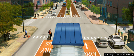 Ashland Avenue Cta Bus Rapid Transit
