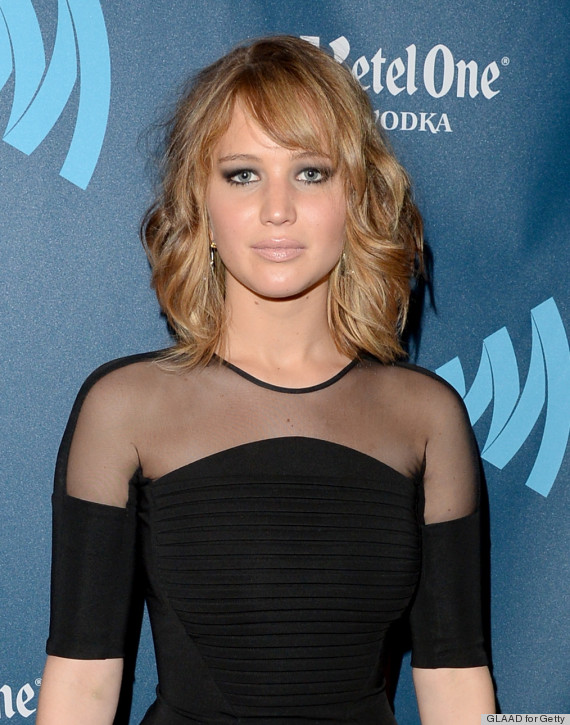 Jennifer Lawrence S Haircut Makes Waves At The Glaad Media Awards Photos Huffpost Life