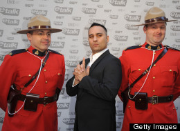 Doing the Full Mountie at the Junos