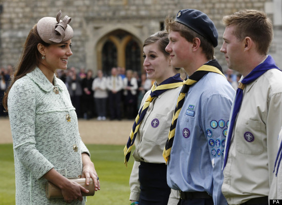 kate middleton scouts