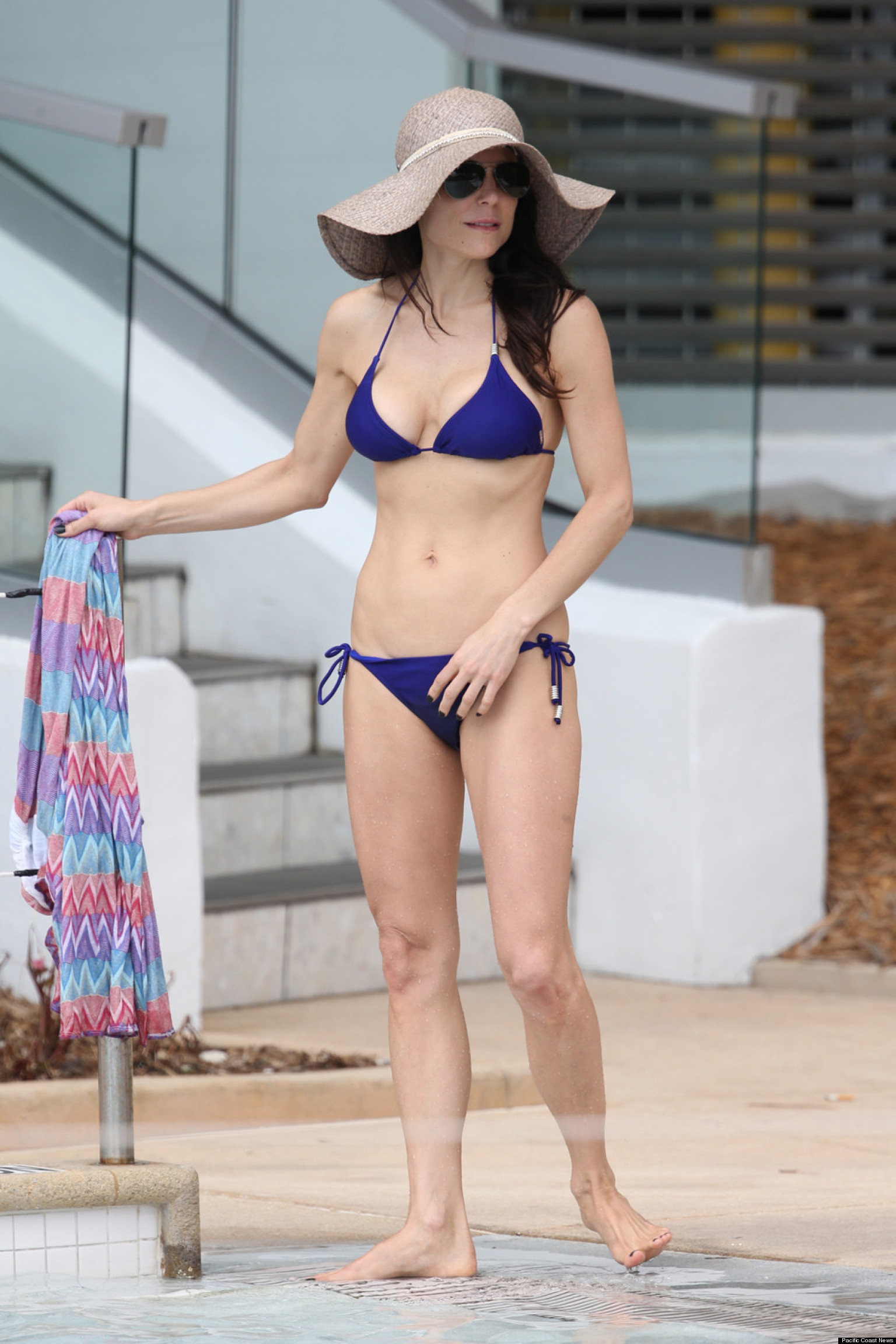 Bethenny Frankel Shows Off Bikini Body