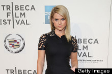 English Rose Shows Off New York Style: Alice Eve's Super Cool LBD For Some Velvet Morning Premiere