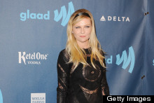 Making Headbands Hip: Kirsten Dunst Looks Chic For The GLAAD Awards