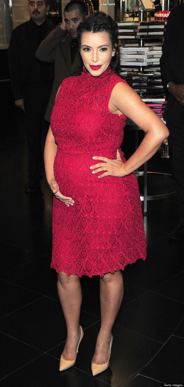 kim kardashian pregnancy timeline
