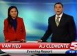 AJ Clemente, Local Anchor, Fired After Saying 'F---ing Sh-t' On Air (VIDEO)