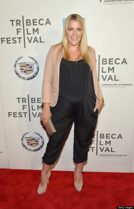 pregnant busy philipps