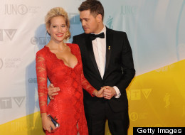 Wow! Michael Bublé's Wife Is Gorgeous!