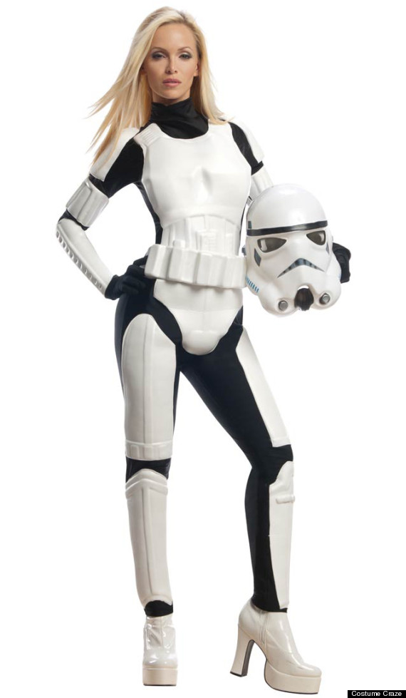sexy star wars costumes stormtrooper