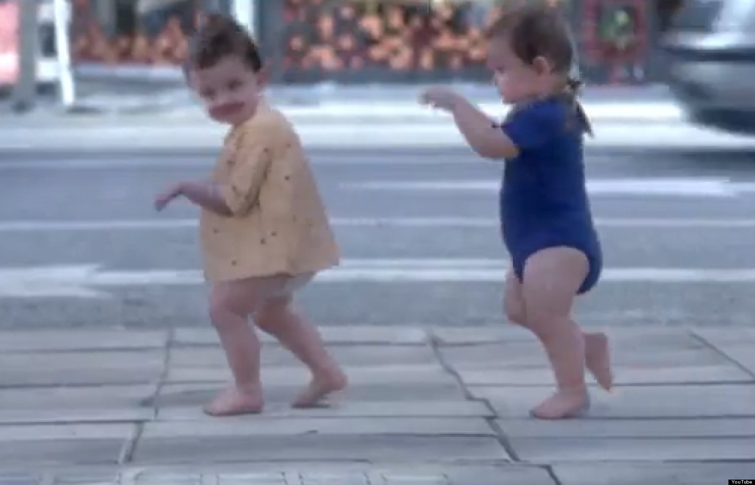 Baby amp me new evian commercial features babies dancing video