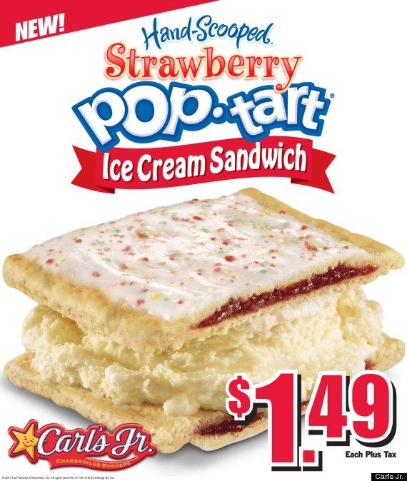 pop tart ice cream sandwich