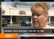 Kelly McGrevey Is 'Too Fat' To Tan, According To Aloha Tanning Salon In Ohio