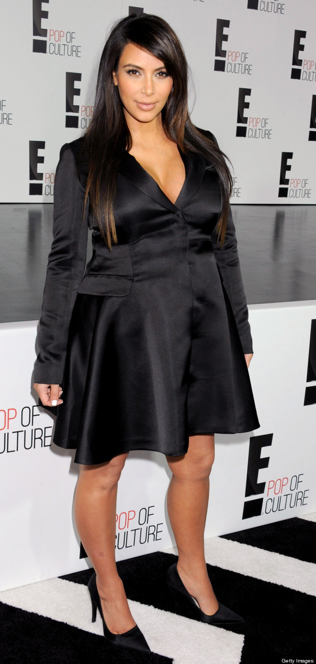 kim kardashian e upfront party