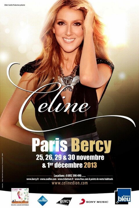 celine dion bercy