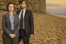 Olivia Colman and David Tennant | Pic: ITV