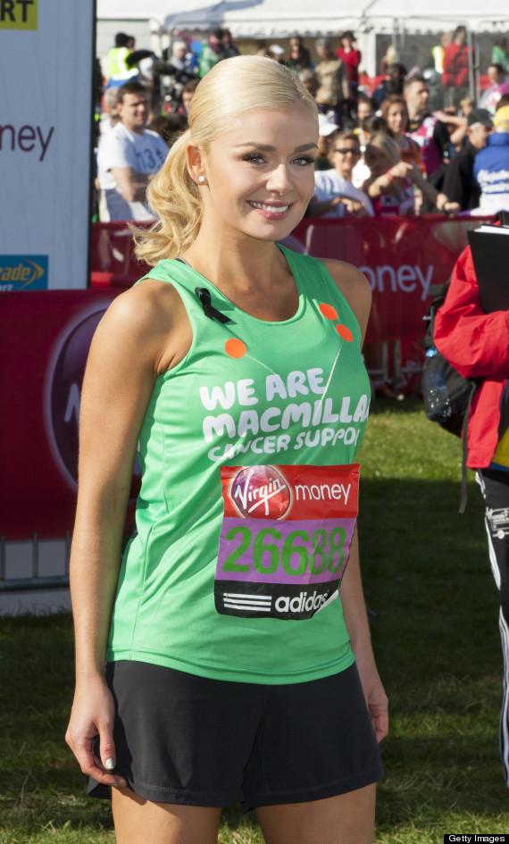 katherine jenkins marathon