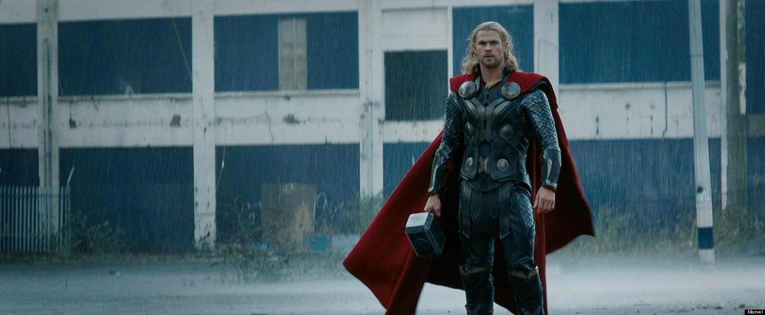 Can Thor the dark world trailer