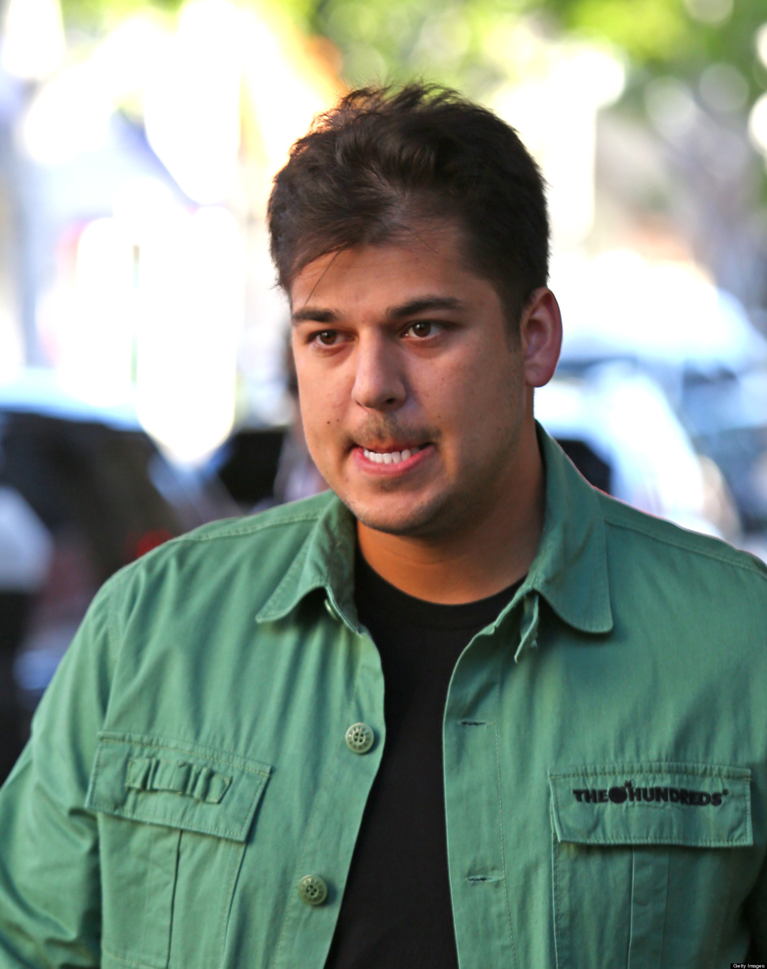 rob kardashian young
