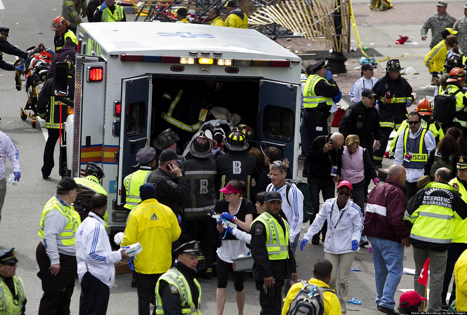 Boston Marathon bombing: Celebs react – SheKnows