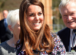 PHOTOS: Kate Middleton Hits Up Manchester In A Lovely Erdem Frock