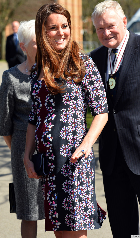 duchess kate bump