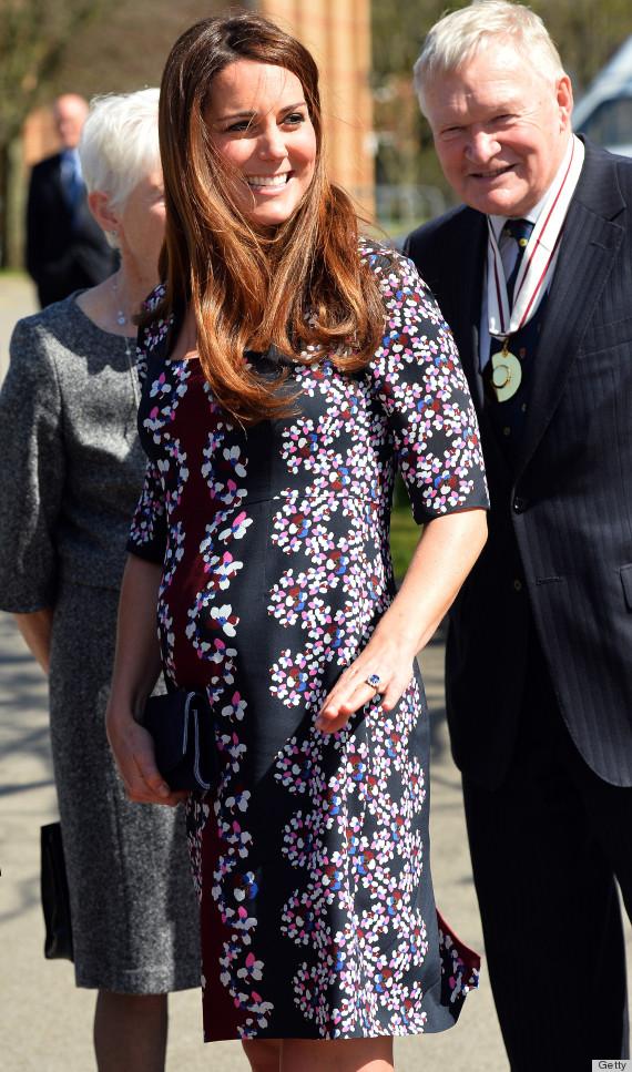 duchess kate bump