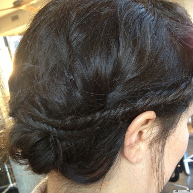 A Fishtail Braid For When Your Hair Is Dirty Photos Video