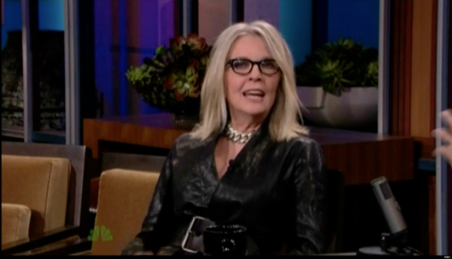 Diane keaton loves the voice video